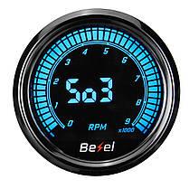 Тахометр 52 мм на десять цветов LED 12 В Авто Датчик 0-9000 об / мин -1TopShop, фото 2