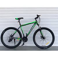 Горный алюминиевый велосипед 27,5 дюймов 17 рама оригинал Шимано + кассета Top Rider