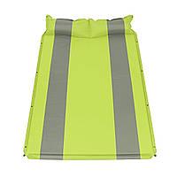 Открытыйдвойнойсамонадувающиесянадувныематрасыспальный коврик для подушки Кемпинг походы-1TopShop