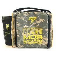 Сумки и рюкзаки Сумка Fit XL (+шейкер, 6 контейнеров,ак.холода), камуфляж