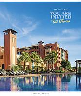 """Зошит 96арк. кліт. Школярик """"Hotels of the World"""" УФ лак №096-2589K(5)(50), фото 1"""
