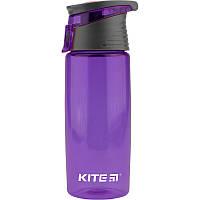 """Пляшка для напоїв пластик """"Kite"""" 550мл №K18-401-05 фіолетова"""