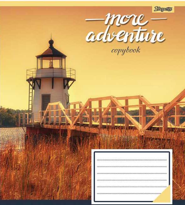 Зошит 36арк. кліт. 1В More adventures №762554(15)(240)