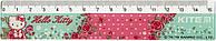 "Лінійка пласт. 15см ""Kite"" №HK19-090 Hello Kitty(100)"