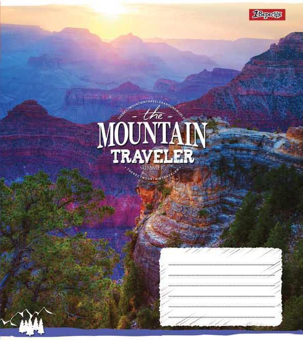 Зошит 12арк. кліт. 1В Mountain traveler №761759(25)(500)
