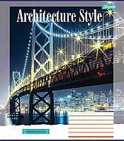 Зошит 24арк. кліт. 1В Architecture city №762423(20)(320), фото 1
