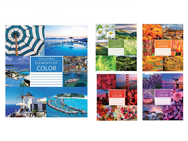 Зошит 60арк. лін. ЗУ Color nature-17 №794690(10)(160)