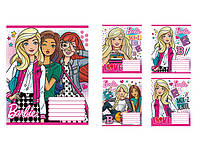 Зошит 12арк. коса лін. без дод. Barbie school-17 №794554(25)(500)