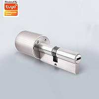 Vima Smart Замок Цилиндр с сердечником Tuya Intelligent Security Door Замок 128-битное шифрование с ключами, подключенными к системе Tuya Smart