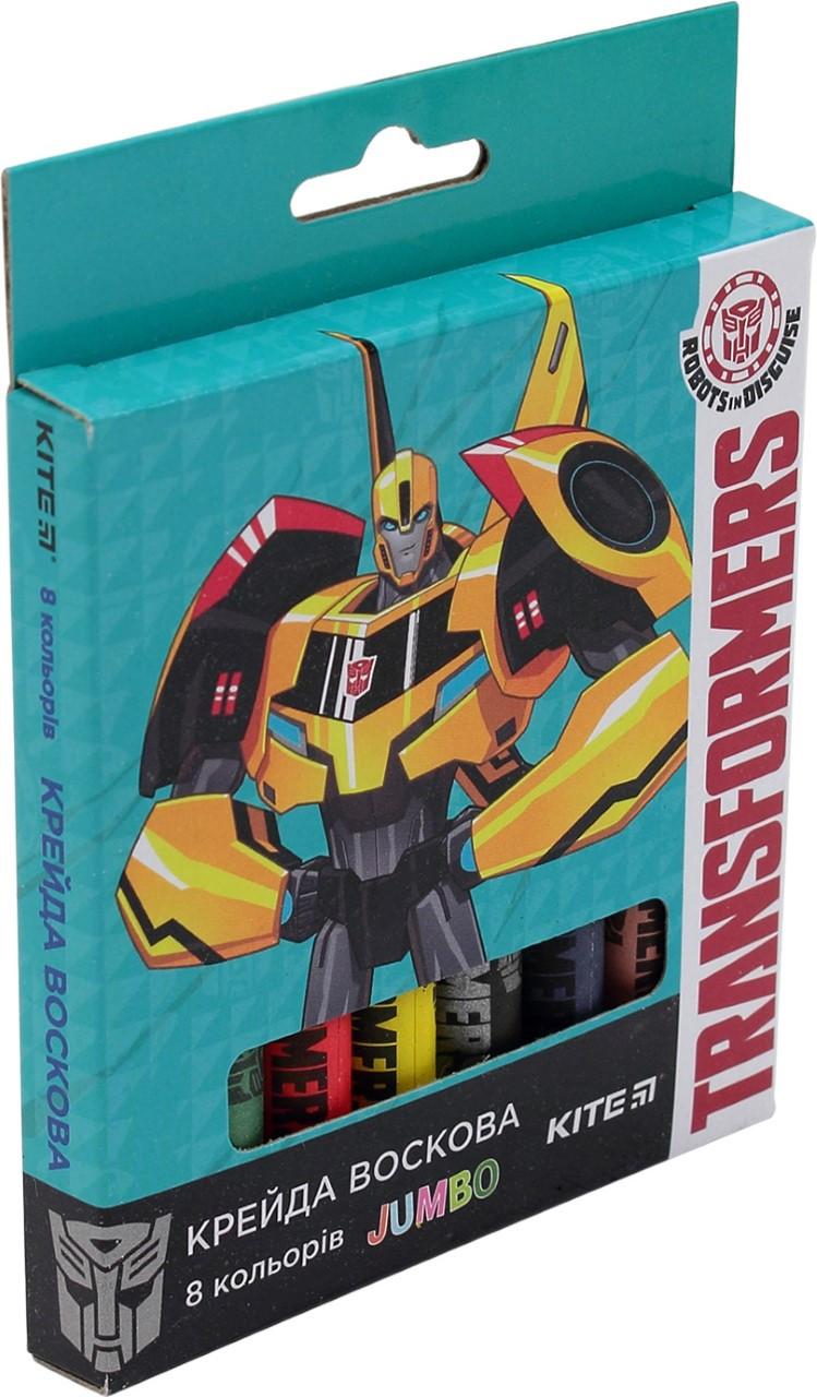 "Крейда воск. ""Kite"" №TF17-076  Transformers 8кольор. Jumbo(12)"