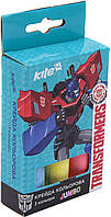 "Крейда кольор. ""Kite"" №TF17-077 Transformers 3кольор. Jumbo(20)(120), фото 1"