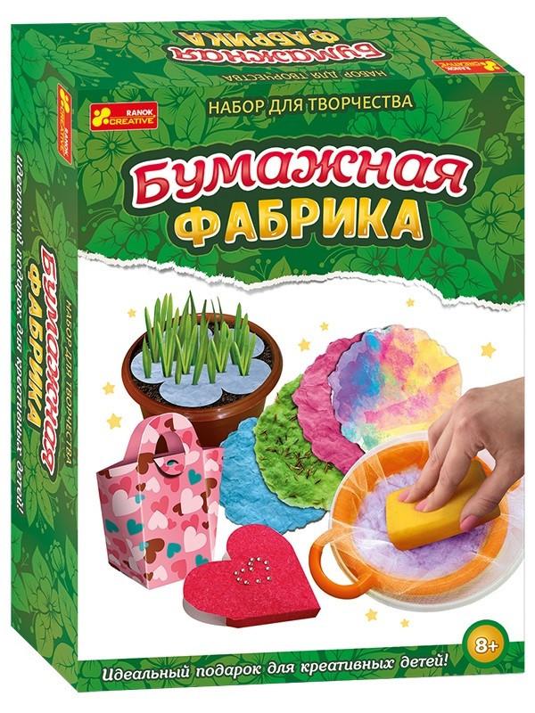 """Гра """"Паперова фабрика"""" №12114017Р/2151(225)"""