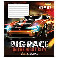 Зошит 48арк. лін. 1В Big Race №763628(10)(100), фото 1