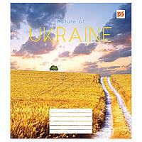 Зошит 12арк. кліт. YES Nature of Ukraine №763114(25)(500)