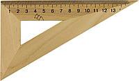 Трикутник дерев. 16см 30х60 №0328(25)(50)