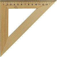 Трикутник дерев. 16см 45х45 №0335(25)(50)