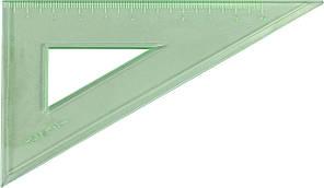 Трикутник 10см №У-100Г прозор.,кольор.(5)(360)