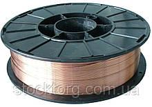 Обміднений зварювальний дріт для напівавтомата(4.5 кг) 1 мм
