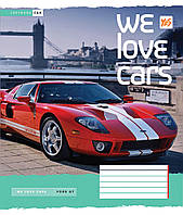 Зошит 18арк. кліт. YES We love cars №761534(25)(400), фото 1