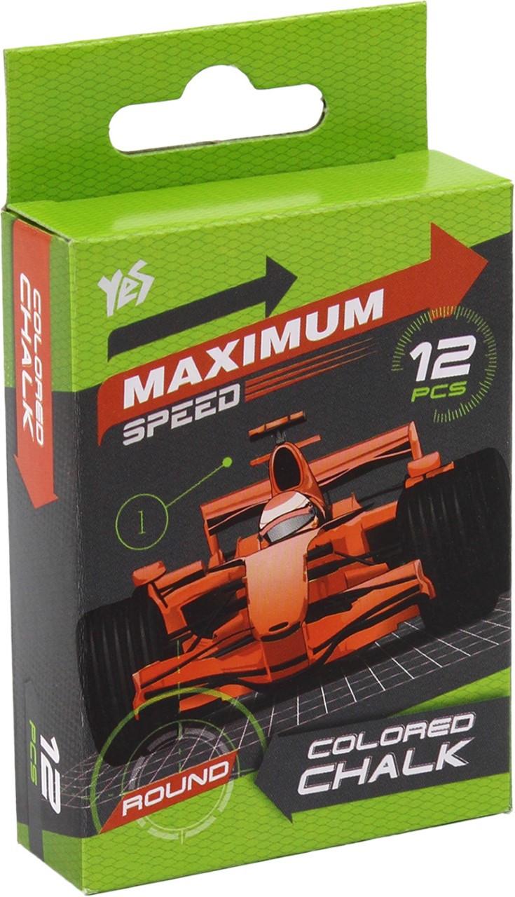 "Крейда кольор. ""1В"" №400184 12шт круг. Maximum speed(12)"