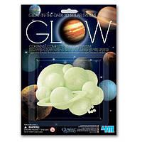 Игровой набор 4M Светящиеся 3D-наклейки Солнечная система (00-05423)