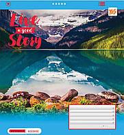 Зошит 18арк. кліт. YES Live story №761502(25)(400), фото 1