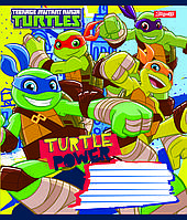 Зошит 12арк. лін. 1В Turtle Power №762918(25)(500)