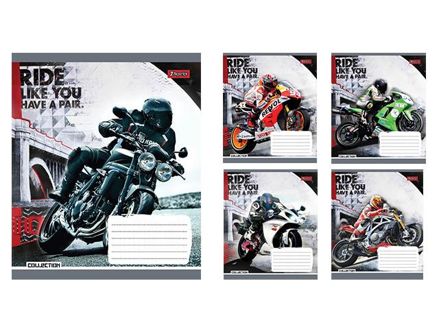Зошит 48арк. кліт. 1В Moto ride-17 №760264(10)(200)