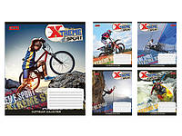 Зошит 48арк. лін. 1В Extreme sports-17 №760402(10)(200)