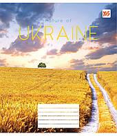 Зошит 48арк. лін. YES Nature of Ukraine №763098(10)(200), фото 1