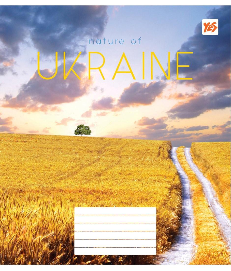 Зошит 48арк. лін. YES Nature of Ukraine №763098(10)(200)