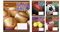 Зошит 24арк. лін. 1В Play ball №762542(20)(320)