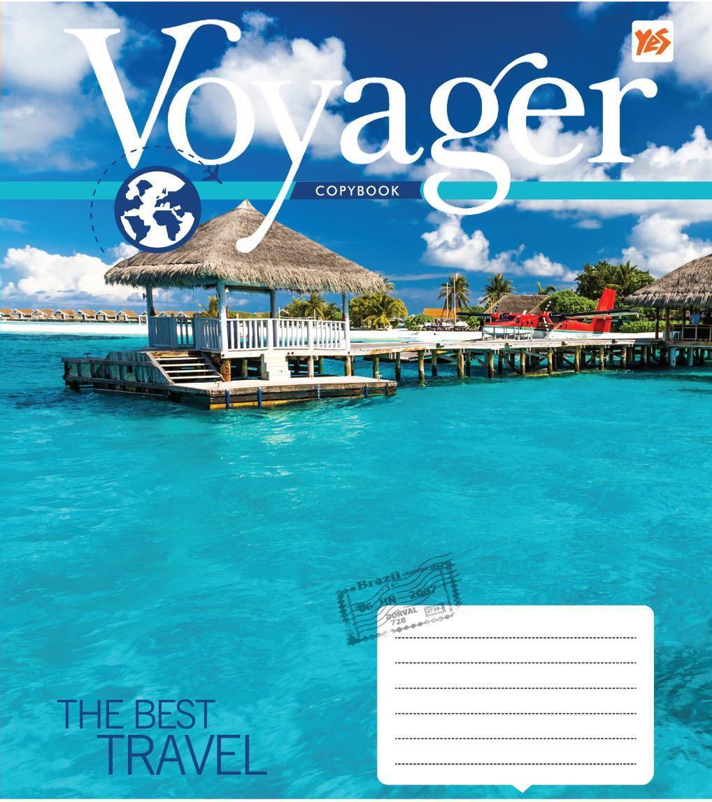 Зошит 18арк. кліт. YES Voyager №761532(25)(400)