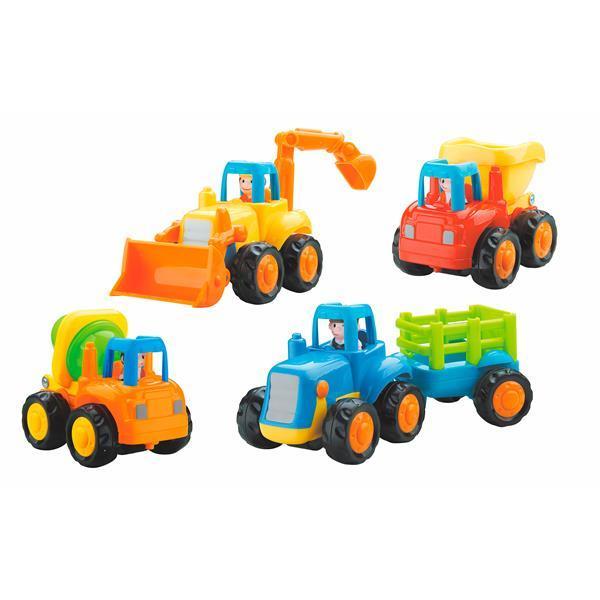 Купить Игрушка Hola Toys Грузовичок 4 шт. (326)