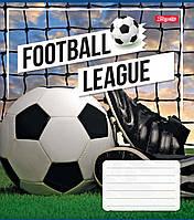 Зошит 18арк. кліт. 1В Football Leaque №762339(25)(400), фото 1