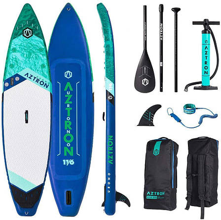 Доска SUP Aztron URONO Touring 11.6 AS-302D, фото 2