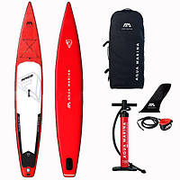 "Надувная SUP доска Aqua Marina Race 12'6"" x 26'' х 6'', BT-20RA01"