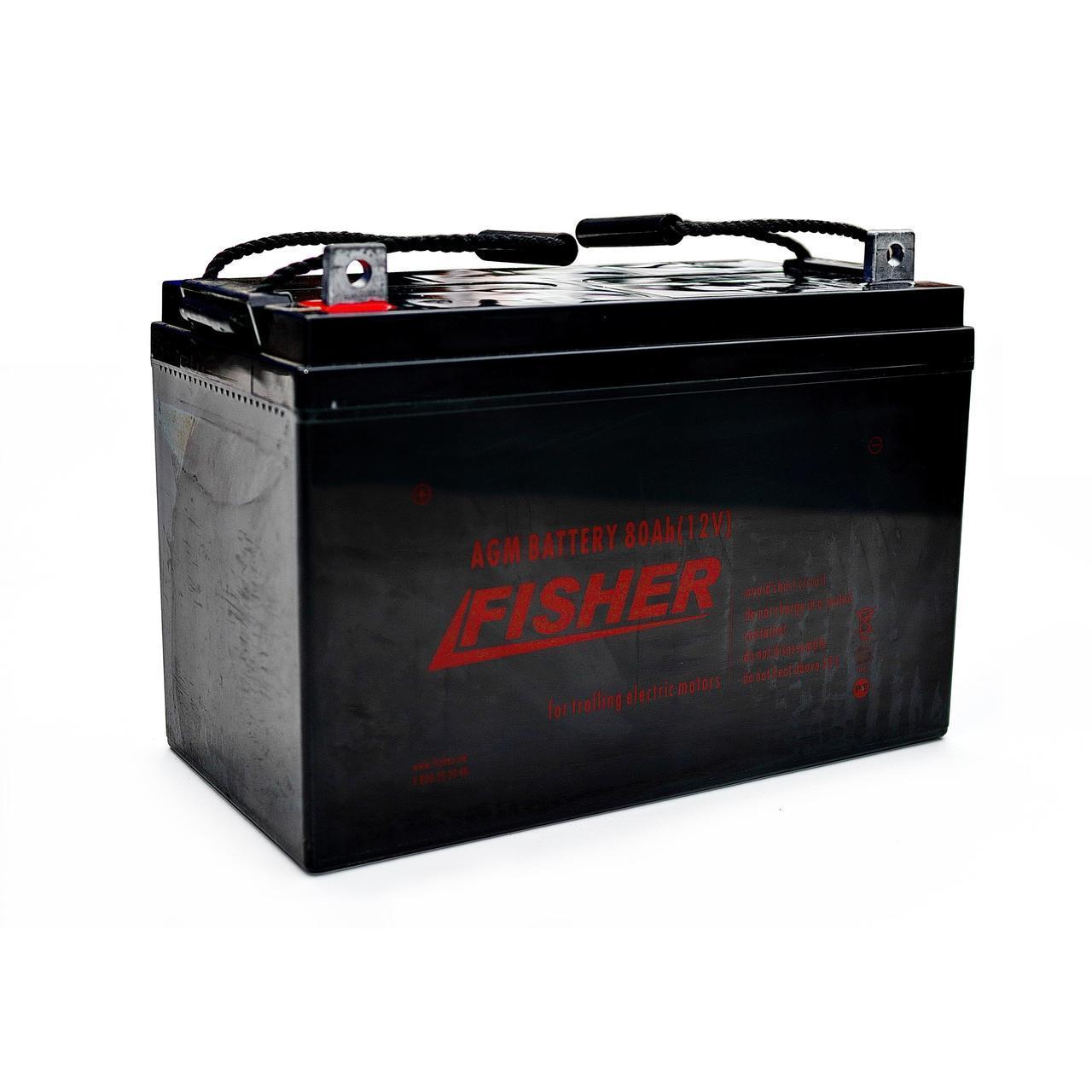 AGM аккумулятор 80Ah Fisher 12V