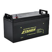 Гелевый аккумулятор 100Ah Fisher 12V