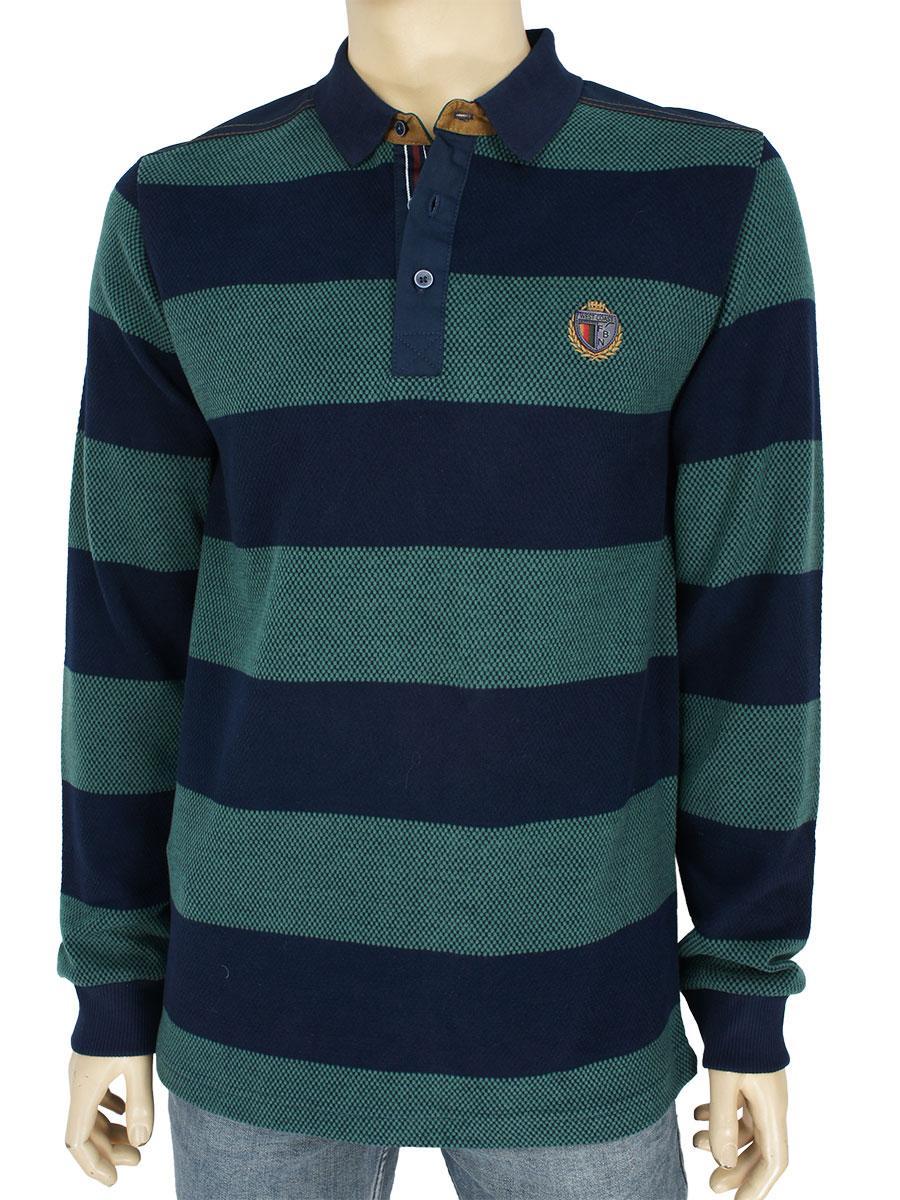 Бавовняний якісний чоловічий светр Fabiani 22761 Nefti
