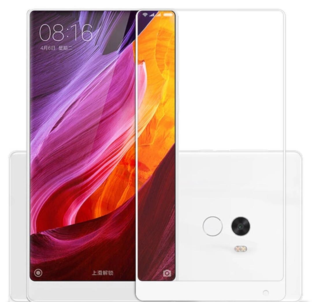 Загартоване захисне скло на Xiaomi Mix 2s Біле