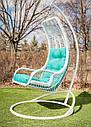 Підвісне крісло «Ліго» білого кольору, фото 2
