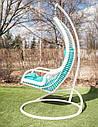 Підвісне крісло «Ліго» білого кольору, фото 3