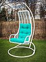 Підвісне крісло «Ліго» білого кольору, фото 6