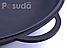 Крышка-сковорода чугунная Ситон не эмалированная 400 мм Крс400ч, фото 2