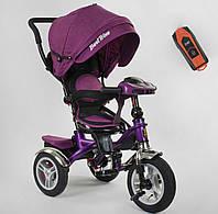 Велосипед 3-х колёсный 5890 / 86-315 Best Trike фиолетовый 88209