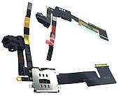 Шлейф iPad 2 Head Set with SIM connector (A1395 / A1396 / A1397)
