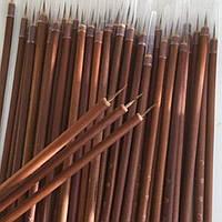 Бамбуковая кисть с натуральным ворсом