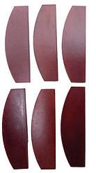 Запчасти для пневмогайковерта KAAA/KAAB1660 (лопатки 6 шт) TOPTUL KAED0290