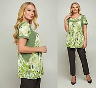 Блузки и туники женские размеры 50-66